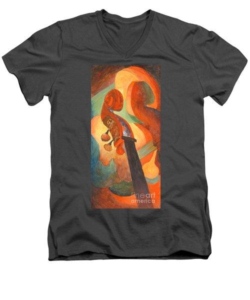 The Scroll Men's V-Neck T-Shirt