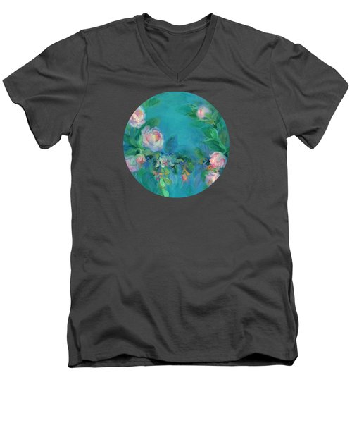 The Search For Beauty Men's V-Neck T-Shirt by Mary Wolf