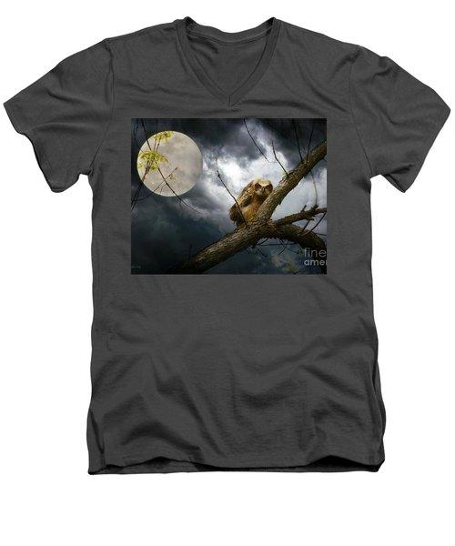 The Seer Of Souls Men's V-Neck T-Shirt by Heather King