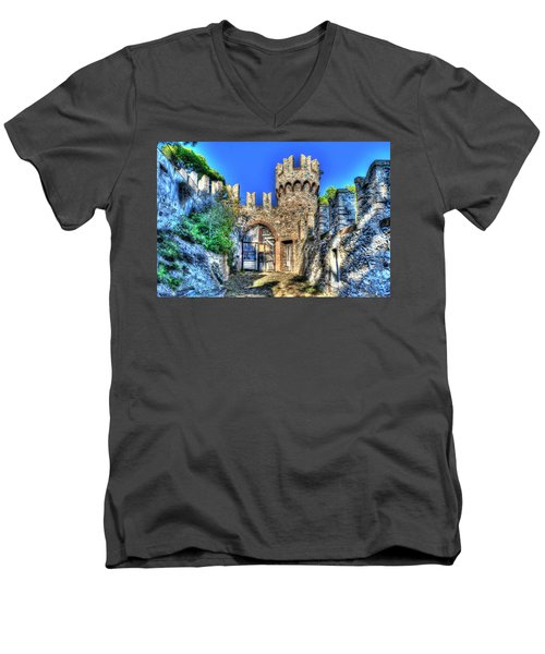 The Senator Castle - Il Castello Del Senatore Men's V-Neck T-Shirt