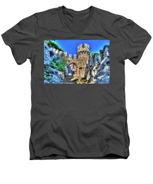 The Senator Castle - Il Castello Del Senatore Men's V-Neck T-Shirt