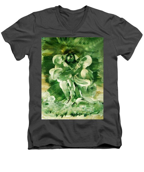 The Seven Deadly Sins- Envy Men's V-Neck T-Shirt