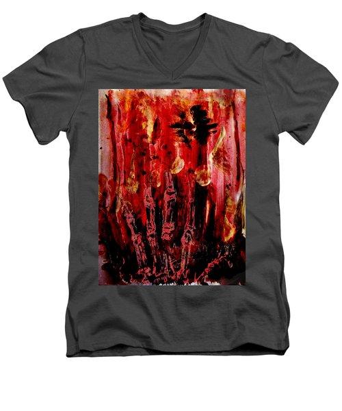The Seven Deadly Sins - Wrath Men's V-Neck T-Shirt