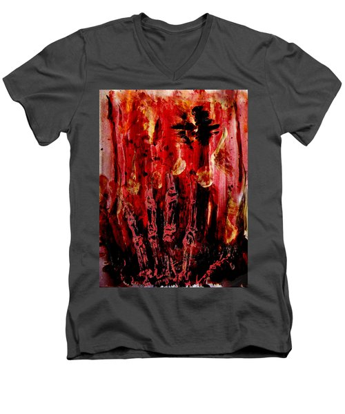 The Seven Deadly Sins - Wrath Men's V-Neck T-Shirt