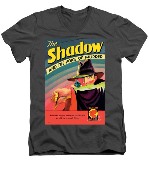 The Shadow Men's V-Neck T-Shirt by George Rozen