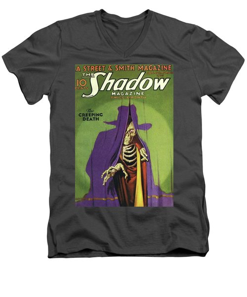 The Shadow The Creeping Death Men's V-Neck T-Shirt