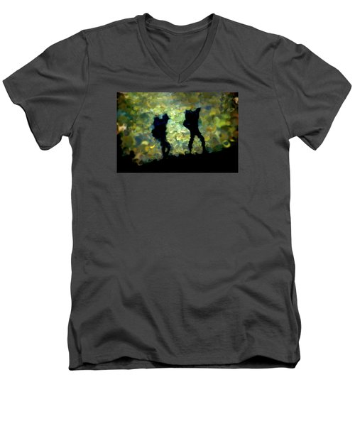 The Shadowalkers Men's V-Neck T-Shirt