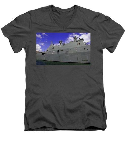 The Ship Is Huge Men's V-Neck T-Shirt