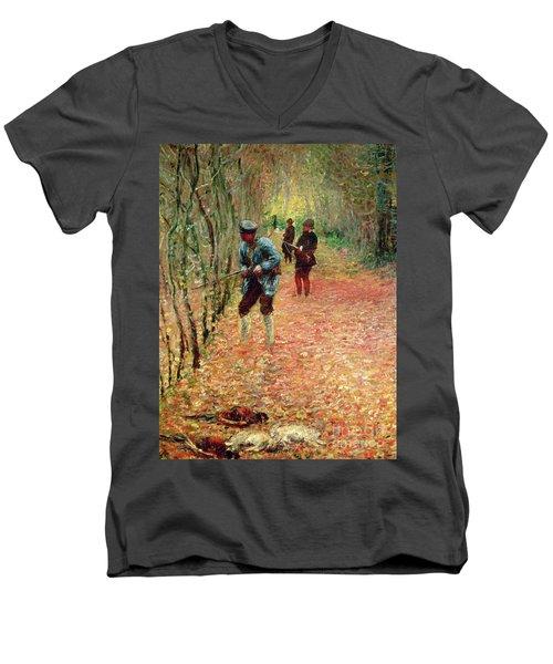 The Shoot Men's V-Neck T-Shirt