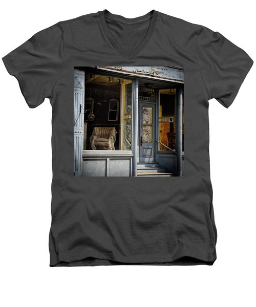 The Shop Men's V-Neck T-Shirt