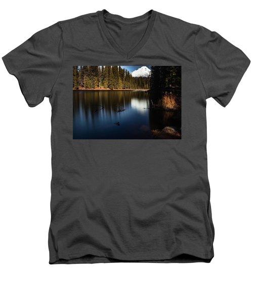 The Silence Of The Lake Men's V-Neck T-Shirt