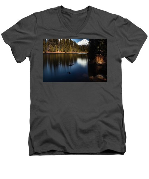The Silence Of The Lake Men's V-Neck T-Shirt