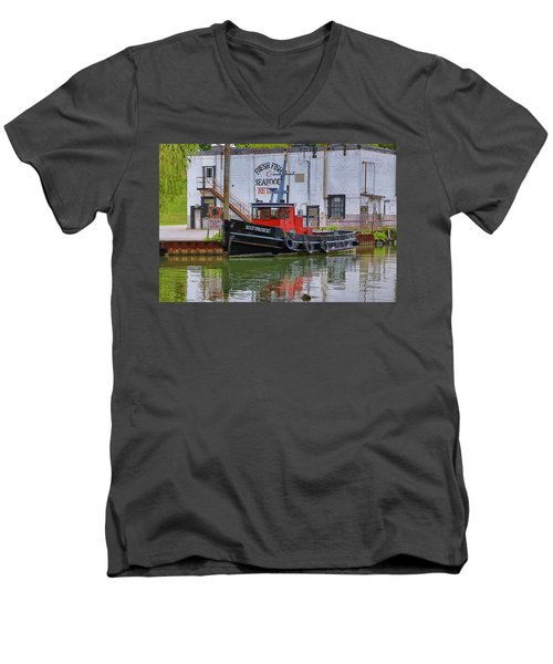 The Silt-prince Men's V-Neck T-Shirt by Gary Hall