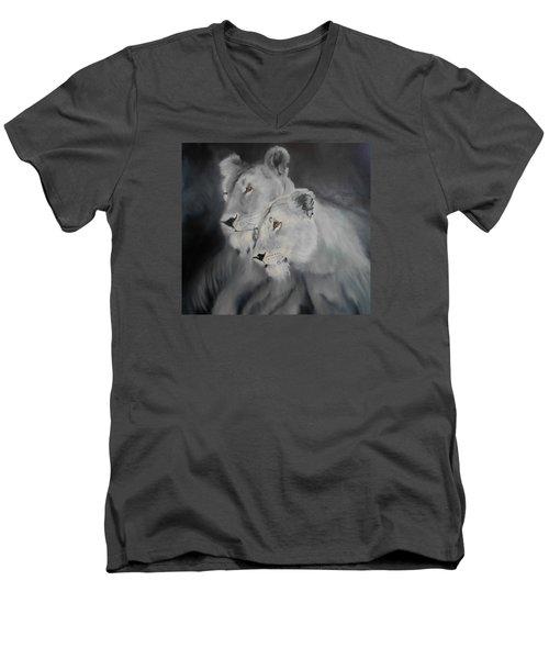 The Sisters Men's V-Neck T-Shirt by Maris Sherwood
