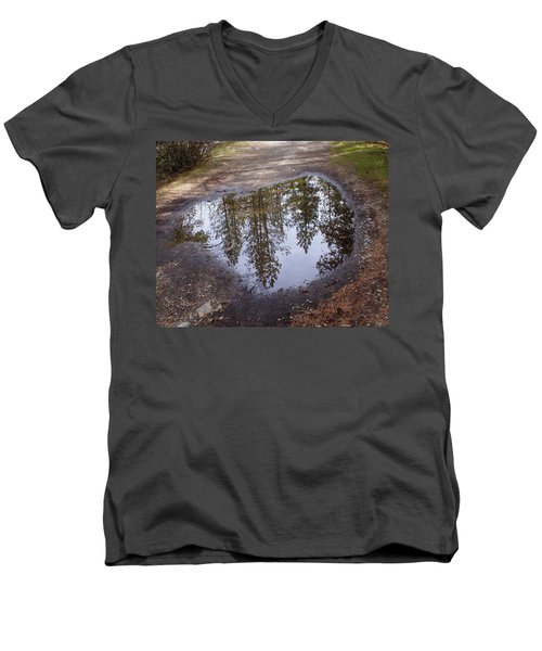 The Sky Below Men's V-Neck T-Shirt