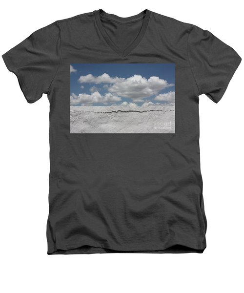 Men's V-Neck T-Shirt featuring the photograph The Sky Is Falling by Brian Boyle