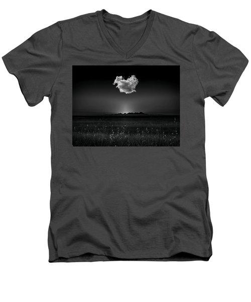 The Smallest Mountain Range Men's V-Neck T-Shirt