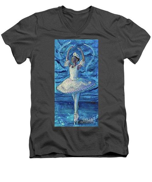 The Snow Queen Men's V-Neck T-Shirt