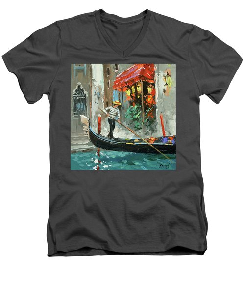 The Sounds Of A Barcarolle Men's V-Neck T-Shirt