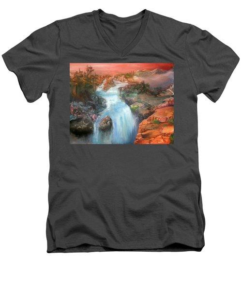 The Source Men's V-Neck T-Shirt
