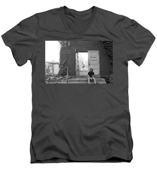 The Speech Annex And Peter Steven, 1980 Men's V-Neck T-Shirt