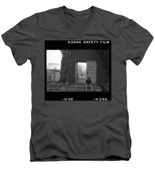 The Speech Annex And Peter Steven, Full Frame, 1980 Men's V-Neck T-Shirt