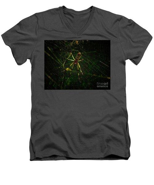 The Spider Men's V-Neck T-Shirt