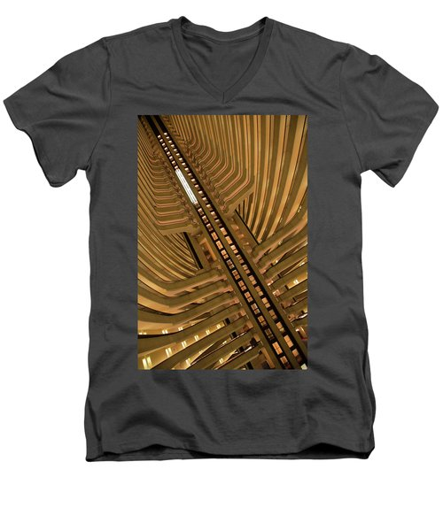 The Spine Men's V-Neck T-Shirt