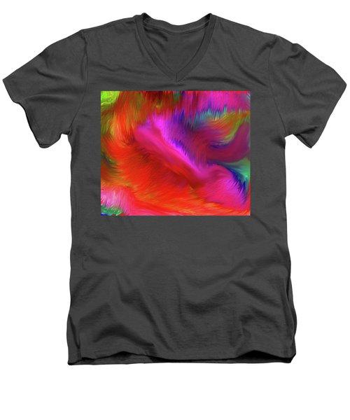 The Spirit Of Life Men's V-Neck T-Shirt