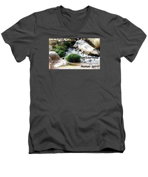 The Spirit Of Water Men's V-Neck T-Shirt
