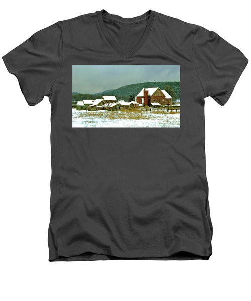 The Spread Men's V-Neck T-Shirt