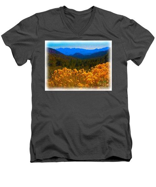 The Spring Mountains Men's V-Neck T-Shirt