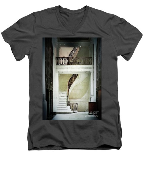 The Staircase Men's V-Neck T-Shirt
