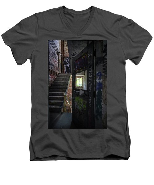 The Stairs Beyond The Door Men's V-Neck T-Shirt