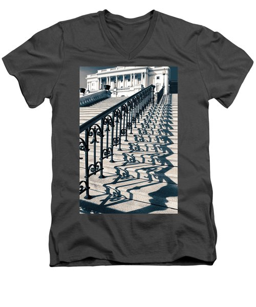 The Stairway Men's V-Neck T-Shirt