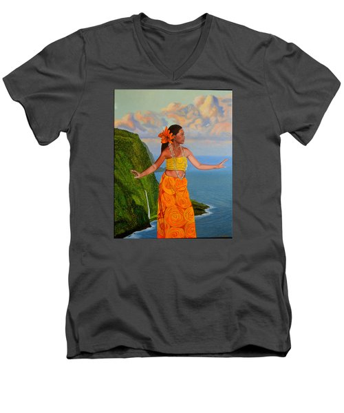 The Star Of The Sea Men's V-Neck T-Shirt