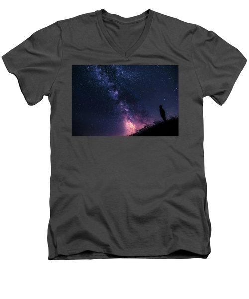 The Stargazer Men's V-Neck T-Shirt