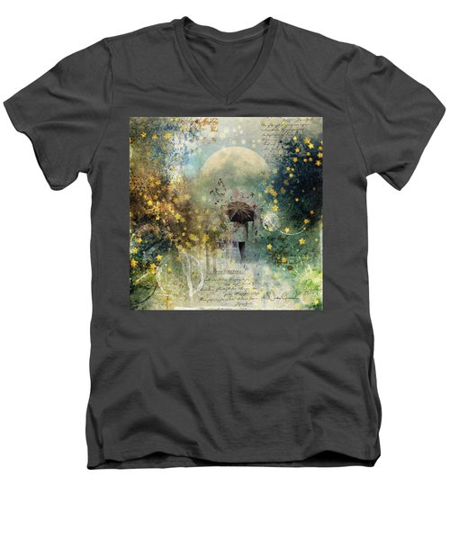 The Stars Fall Down Men's V-Neck T-Shirt