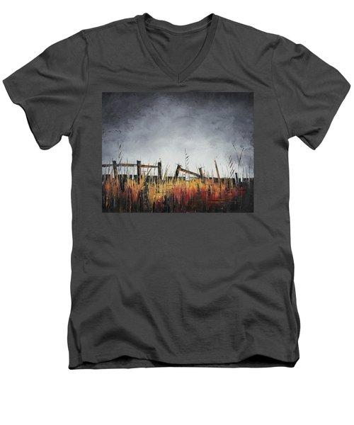 The Stories Were Left Untold Men's V-Neck T-Shirt by Carolyn Doe