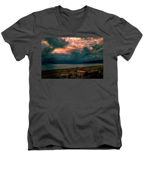 The Storm Moves On Men's V-Neck T-Shirt