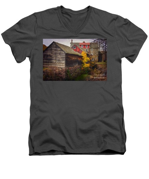 The Stover-meyers Mill Men's V-Neck T-Shirt