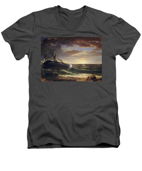 The Stranded Ship Men's V-Neck T-Shirt