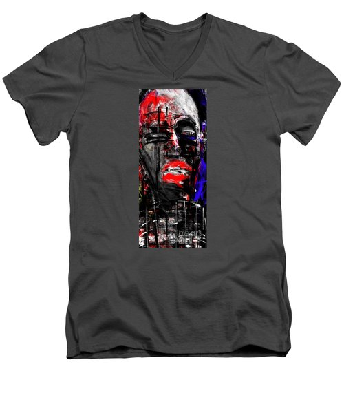 The Suffering Men's V-Neck T-Shirt by Rc Rcd