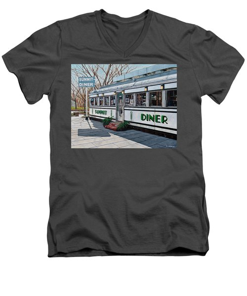 The Summit Diner Men's V-Neck T-Shirt