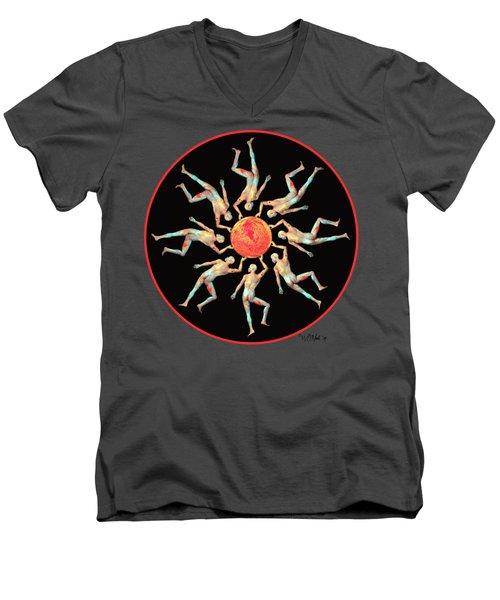 The Sun Dance Men's V-Neck T-Shirt