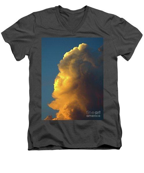 The Sunset Cloud Men's V-Neck T-Shirt