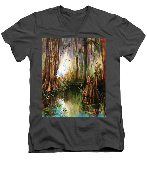 The Surveyor Men's V-Neck T-Shirt