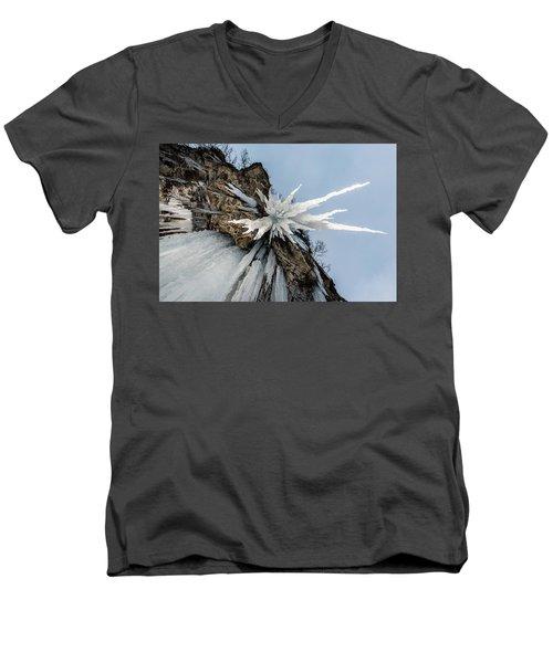 The Sword Of Damocles Men's V-Neck T-Shirt