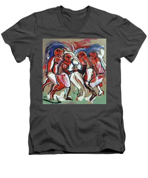 The Tackle Men's V-Neck T-Shirt