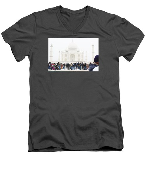 The Taj Men's V-Neck T-Shirt